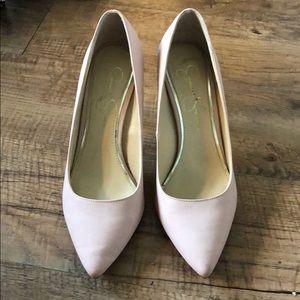Jessica Simpson Blush Pink Heels
